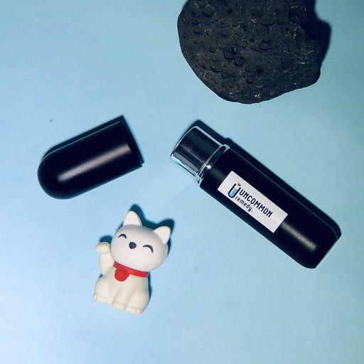 Uncommon Remedy Inhale Easy Set - Black Matte Inhaler, Essential Oil, Aroma Wick-essential-Uncommon Remedy