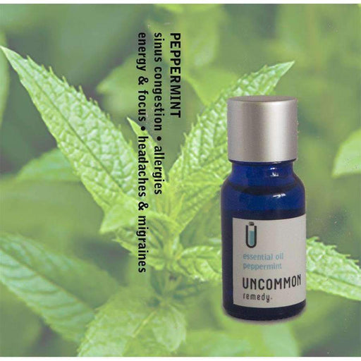 Uncommon Headache & Sinus Remedy - Peppermint Essential Oil (mentha piperita) 10ml - uncommon remedy self care solutions for wellness