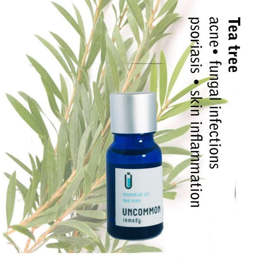 Uncommon Remedy Tea Tree Essential Oil (melaleuca alternifolia) 10ml-oil-Uncommon Remedy
