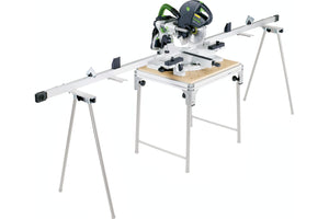 Sliding compound mitre saw KS 120 EB Set GB