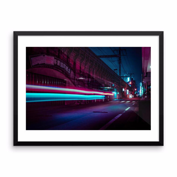 Limited Edition - Follow the lights - Framed