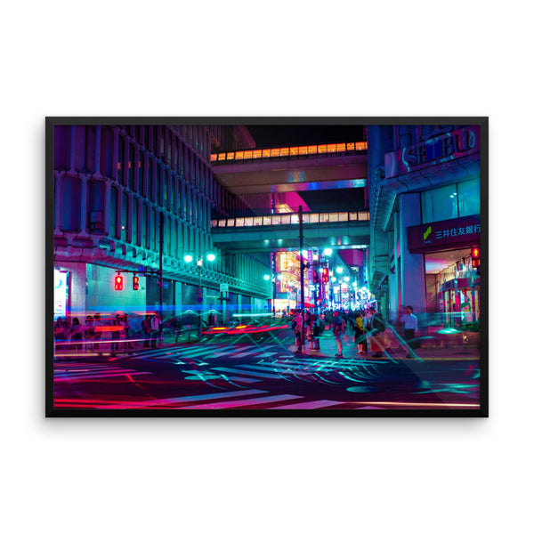 Walkways - Shibuya - Spring 2018 - Framed