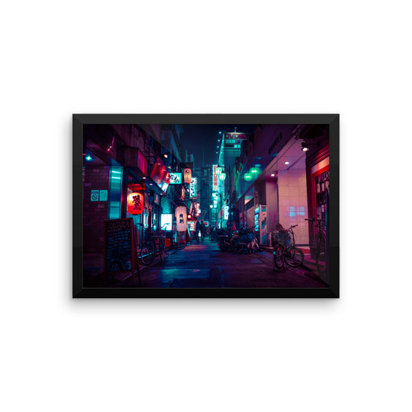 Peaceful - Kabukicho, Shinjuku - Framed