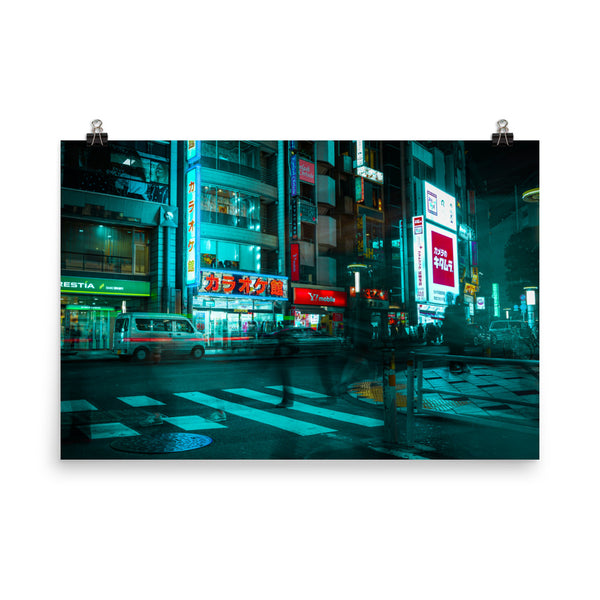 Movement in Shibuya - Premium Print