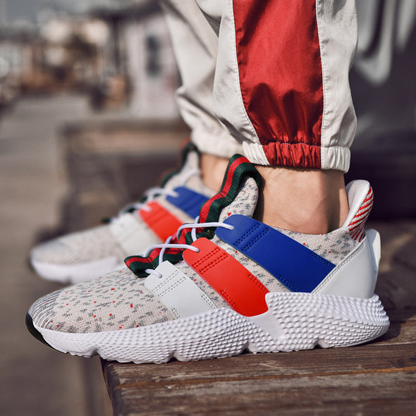 Fashion Camouflage Mixed Colors Men Footwear