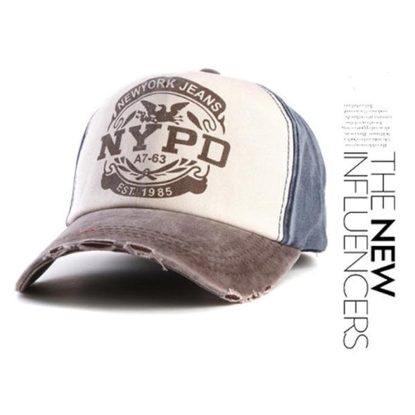 Baseball Cap Fitted Hat Casual Cap