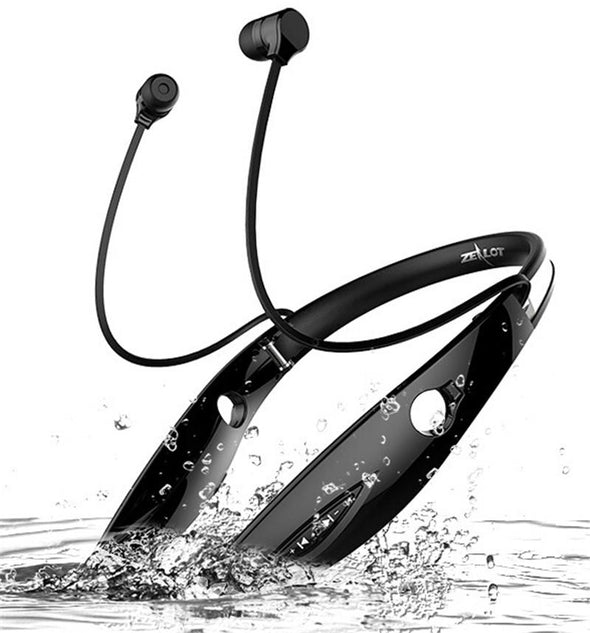 Sports Stereo In-ear Bluetooth Earphones With Mic