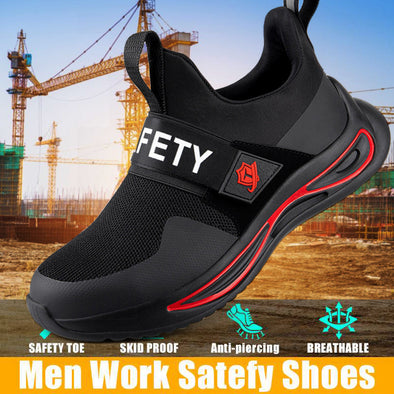 Newest Steel Toe For Work Composite Toe Sneakers