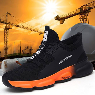Anti-smashing Puncture Proof Construction sneakers