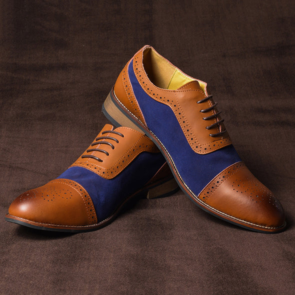 Business British Casual Leather Shoes