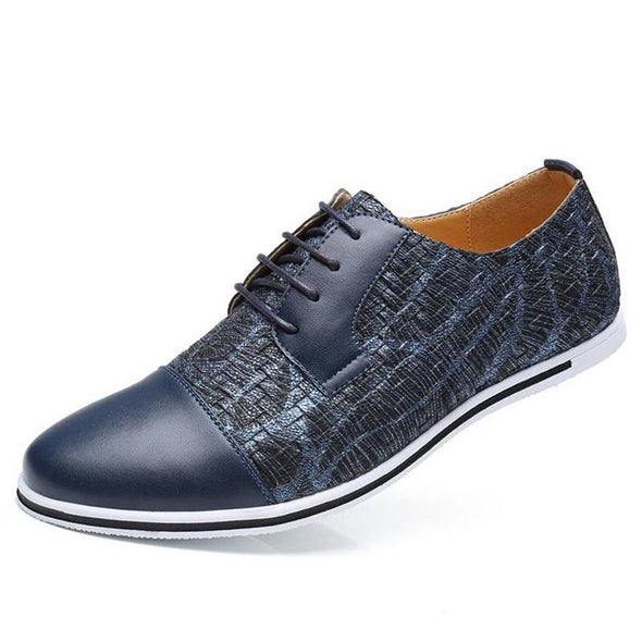 New Breathable Lace Up  Casual Mens Shoes