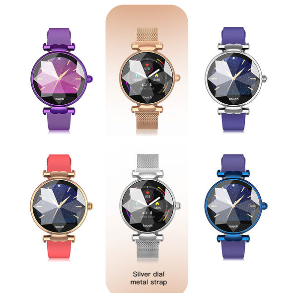 New Colorful Blood Pressure Watch Heart Rate Monitor  Fitness Tracker