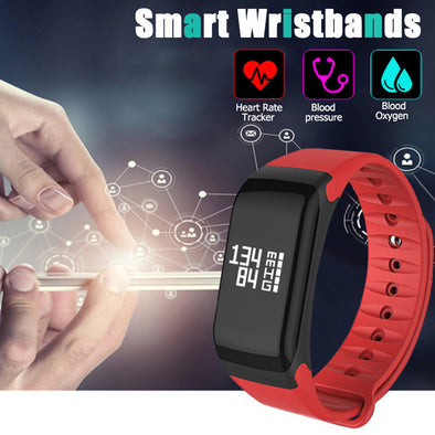 Fitness Tracker Heart Rate Monitor Bluetooth Smart Band