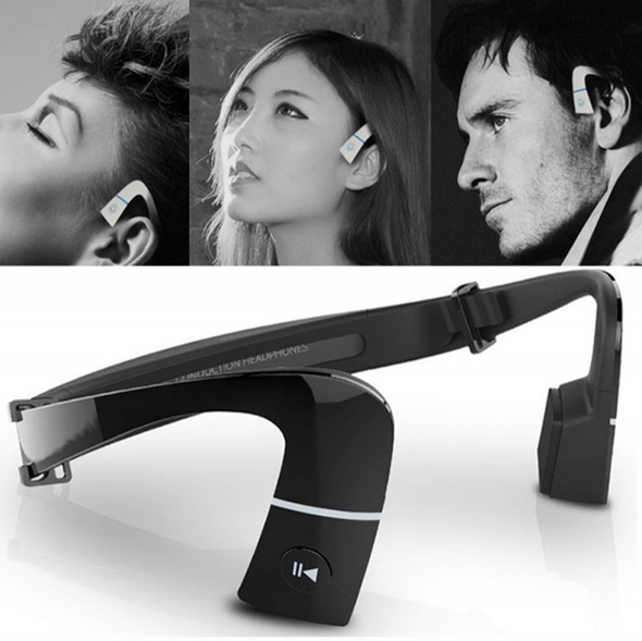 Headphone-Bone Conduction Earphones With Mic
