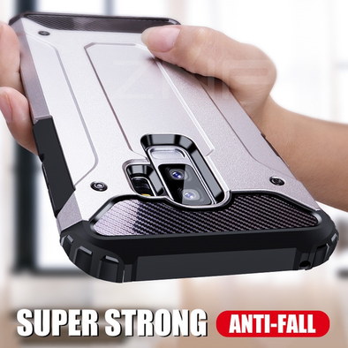 Hybrid Tough Shockproof Armor Strong Case For Samsung