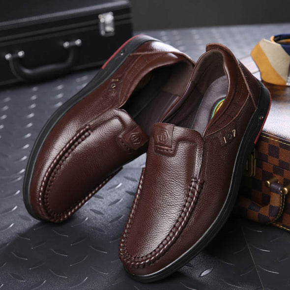 2019 Newly Men's Genuine Leather Shoes