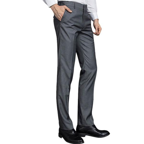 Fashion Casual Trousers Slim Fit Dress Pants