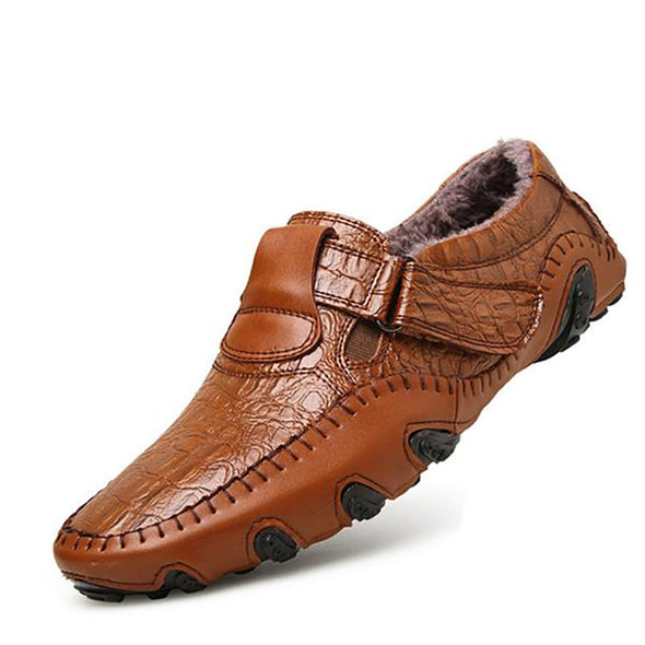 Winter Warm Male Driving Moccasins