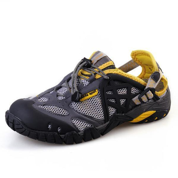 Sports & Outdoors - 2017 Men Outdoor Big Size Breathable Hiking Shoes