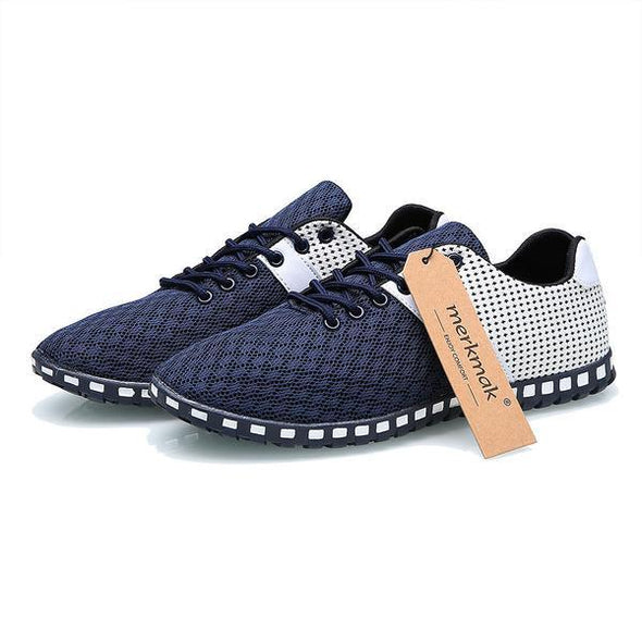 Shoes - Men's New Breathable Casual Flat Shoes