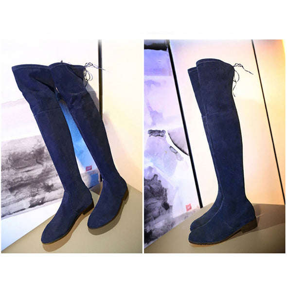 Plus Size Women Over The Knee Boots