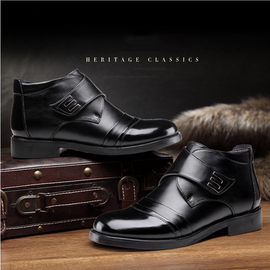 Autumn And Winter Men Dress Boots