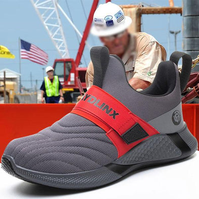 2021 Man Steel Toe Safety Work Shoes