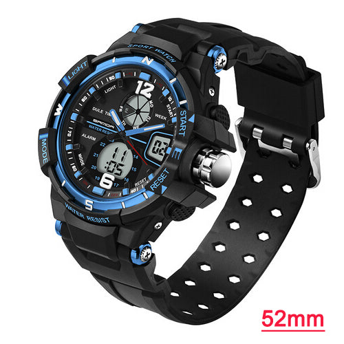 Men Sport LED Digital Quartz Wrist Watches