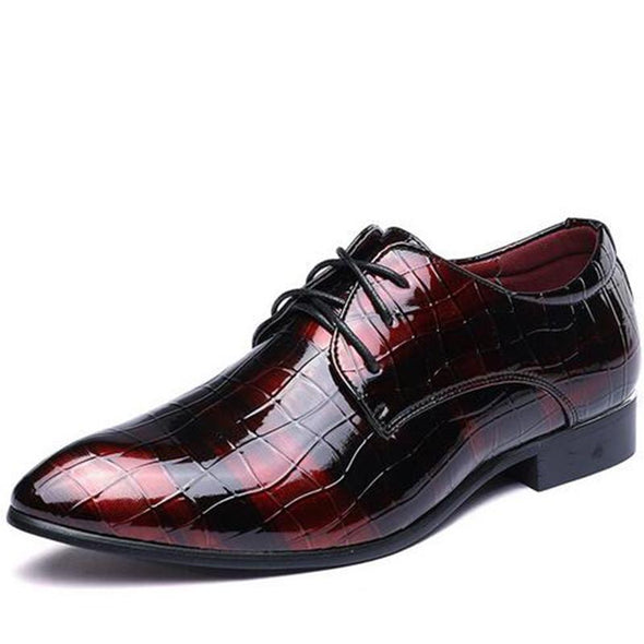 Business Dress Shoes Men oxford Flats Formal Shoes