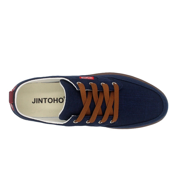 Breathable Casual Canvas Men Shoes