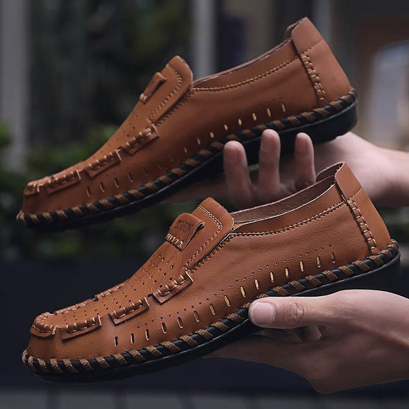 Handmade Breathable Casual Men Shoes