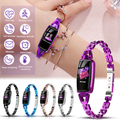 Fitness Bracelet Heart Rate Monitor Ip68 Waterproof Bluetooth Smartwatch for Ios Android