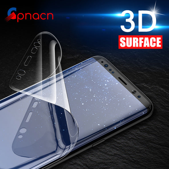 3D Curved Full Flex Soft TPU Screen Protector For Samsung  ( Not Glass )