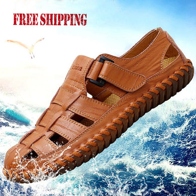 2019 Summer Handmade Men Breathable Casual Sandals