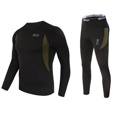 New Men Quick Drying Thermo Underwear Sets