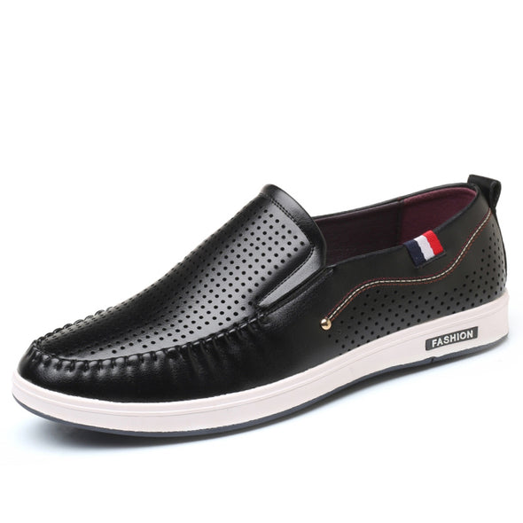 Men Summer Breathable Slip on Flats Shoes