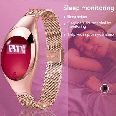 Smart Watches With Blood Pressure Heart Rate Monitor Pedometer Fitness Tracker