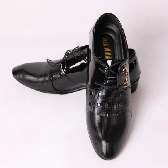 Office Men's Dress Shoes Italian Style Casual Oxfords Suit  Shoes