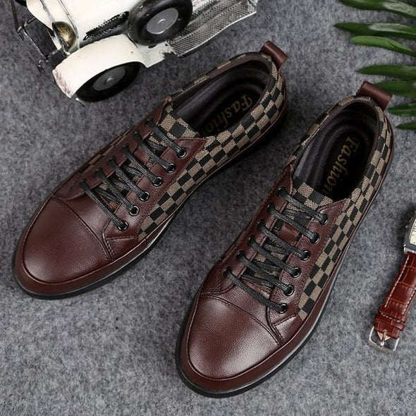 Big Size Men Shoes Fashion Handmade Top Quality  Flats  Casual Shoes