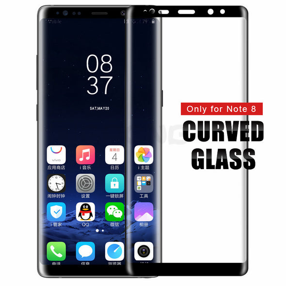 4D Curved Tempered Glass Full Cover For Samsung
