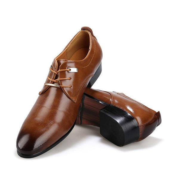 New 2018 Men Business Formal Dress Shoes
