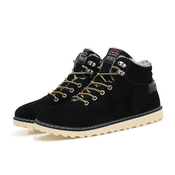 Men's Lace-Up Handmade Ankle Casual Boots