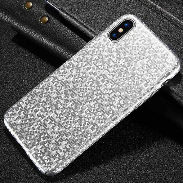 Ultra Thin Mosaic Case For iPhone X 7 8 Plus 6 6s