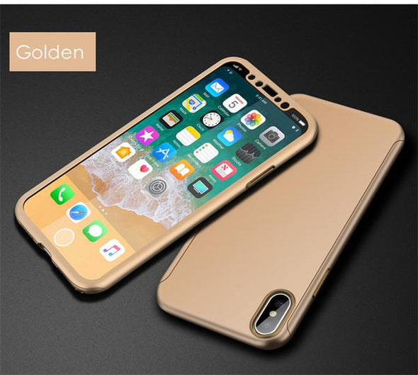 360 full Slim Protective case for iPhone