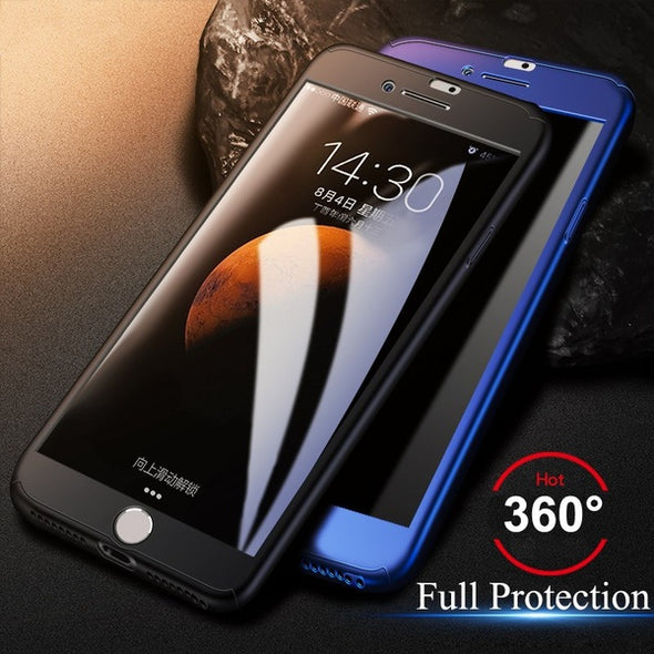 6D Aluminum Alloy Tempered Glass Full Screen Protector For Iphone