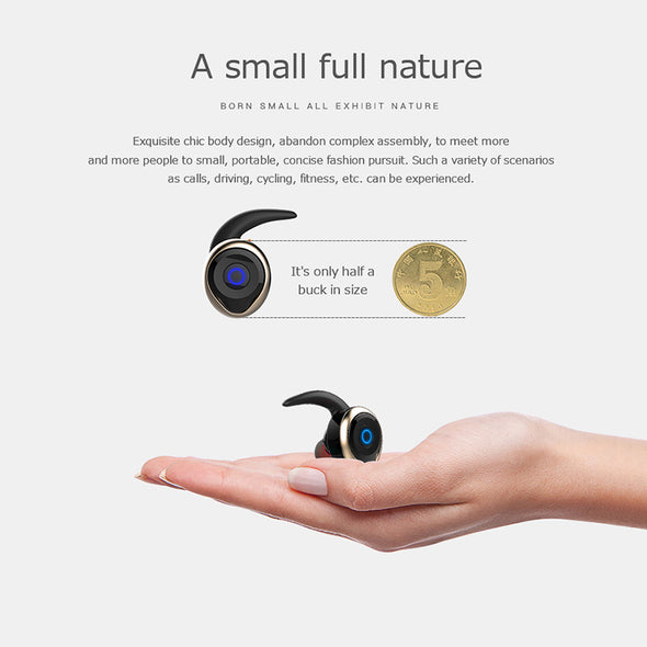 Mini Bluetooth V4.2 Wireless Bluetooth Dual Earphone