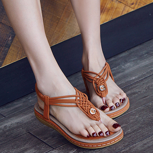 2019 Summer large Size  Comfortable Sandals