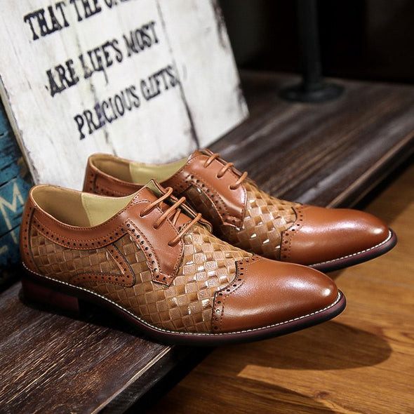 New Handmade Comfortable Flat Men Formal Shoes