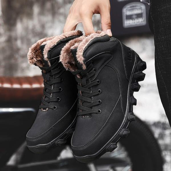Men High Quality Fashion Ankle Boots