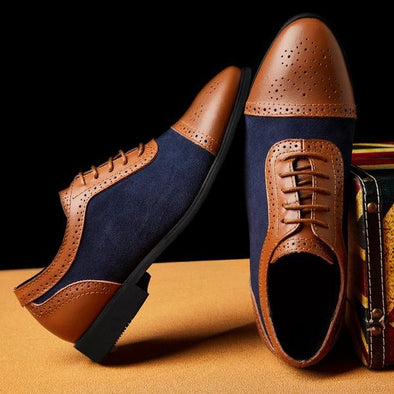 Fashion 2019 Lace Up Mens Dress Shoes